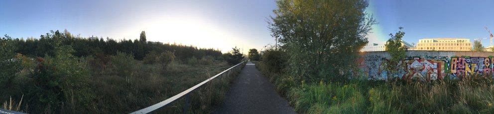 Panorama-Foto mit dem iPhone 6s Plus aufgenommen (verkleinert)