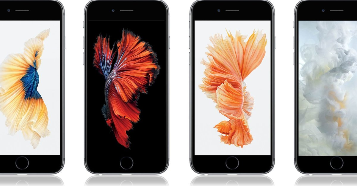 Download Ios 9 Live Wallpapers Iphone 6s 6s Plus: IPhone 6s Wallpaper Zum Download: Diese Gibt's Nicht In IOS 9