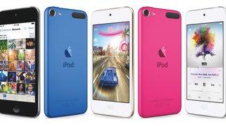iPod touch: Nur noch zwei Modelle mit gesenktem Preis