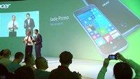 Acer Jade Primo mit Windows 10 Mobile & Continuum angekündigt (IFA 2015)