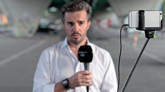iSight toppt TV-Kamera:  Schweizer Sender testet iPhone-only-Betrieb