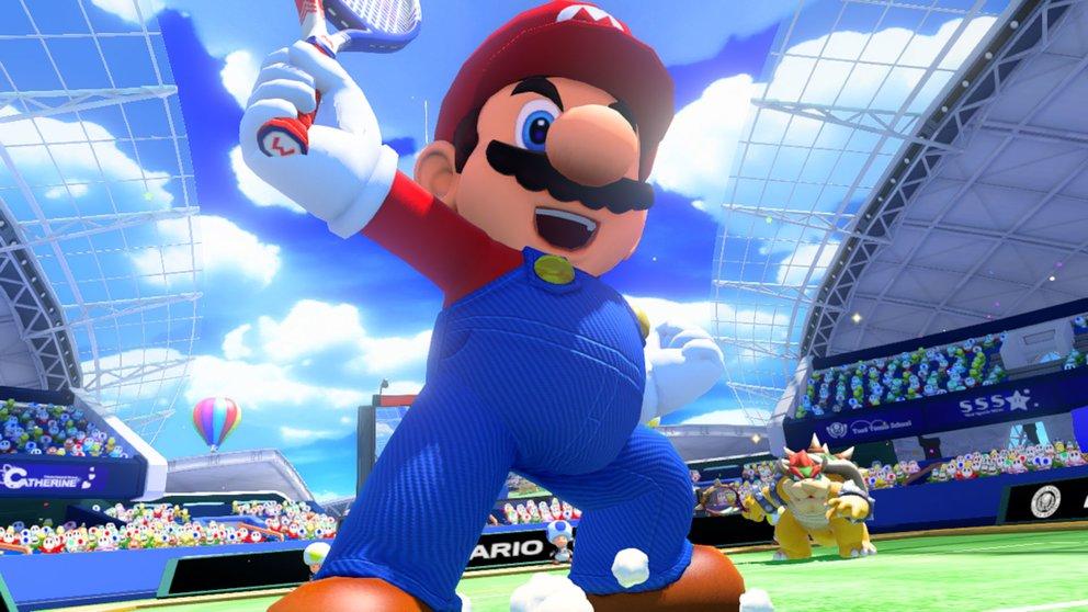 Mario Tennis - Ultra Smash: Ein neues Tennisspiel im Mario-Universum.