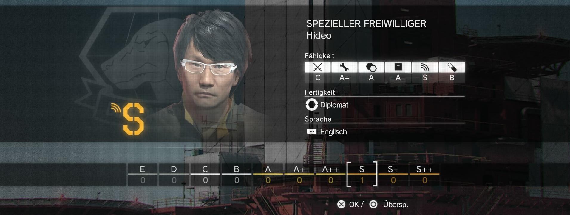Mgs 5 The Phantom Pain Hideo Kojima Rekrutieren So Wird Er Zu