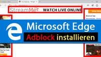Microsoft Edge: Adblock (Plus) installieren – So geht's
