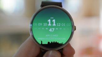 "Moto 360: App ""Watch Face"" kaschiert schwarzen Balken mit cleverem Trick"
