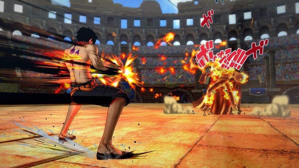 One Piece - Burning Blood: Ruffy heizt seinen Gegnern ordentlich ein.