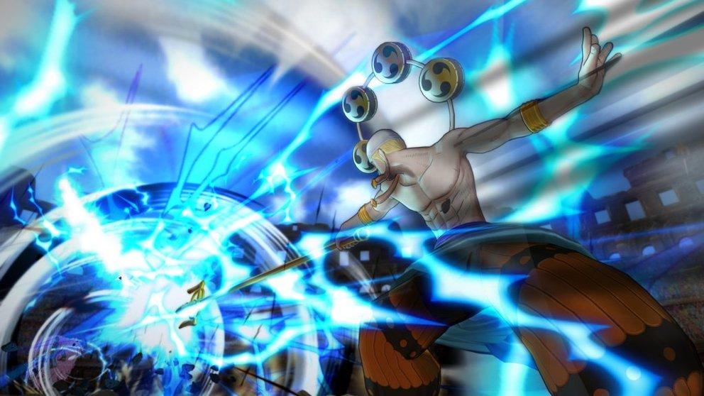 One Piece - Burning Blood: Wie es sich gehört, wird der Bildschirm ob der Effekte erbeben.