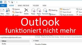Outlook funktioniert nicht mehr – So geht's wieder