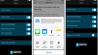 """Ein bisschen """"Peace"""": iOS 9 Content-Blocker nutzt Ghostery-Datenbank"""