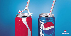 pepsi cola und coca cola werbung vergleich - Irrefuhrende Werbung Beispiele