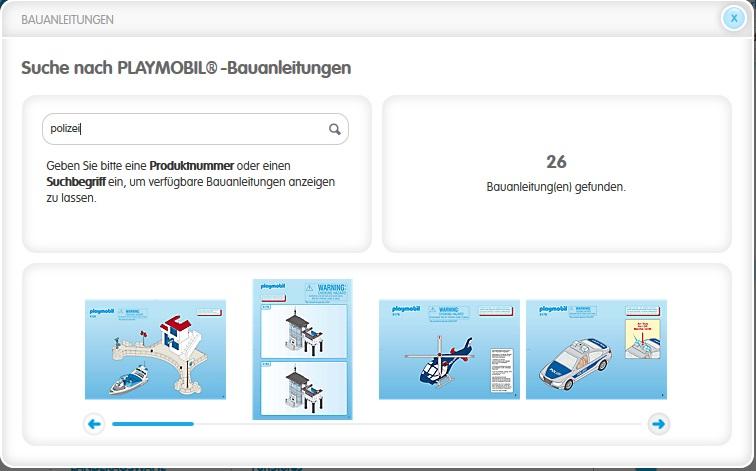 Playmobil: Bauanleitungen im Archiv kostenlos herunterladen – GIGA