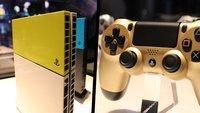 Die schicken neuen Designs für PS4, DualShock und Vita werden euch verzaubern!