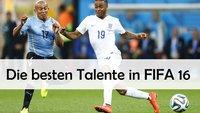 FIFA 16 Talente: Geheimtipps mit Potential für den Karrieremodus