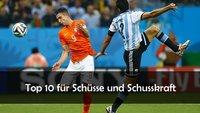 FIFA 16: Top 10-Spieler für Schüsse und Schusskraft