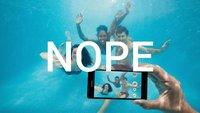"""Sony: """"Wasserdichte Smartphones sollten nicht unter Wasser benutzt werden"""""""