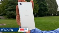 Sony Xperia Z5 compact: 4,6 Zoller mit Snapdragon 810 und 2.700 mAh-Akku im Hands-On-Video [IFA 2015]