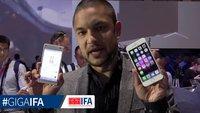 Sony Xperia Z5 Compact vs. iPhone 6: Kompakt-Smartphones im Videovergleich