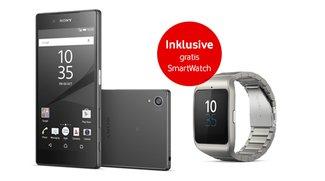 Sony Xperia Z5: Top-Smartphone bei Vodafone vorbestellen und SmartWatch 3 kostenlos erhalten