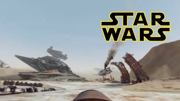 Erlebt die ultimative 360°-Erfahrung zu Star Wars 7