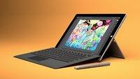 Surface Pro 3: Neue Firmware verursacht Probleme