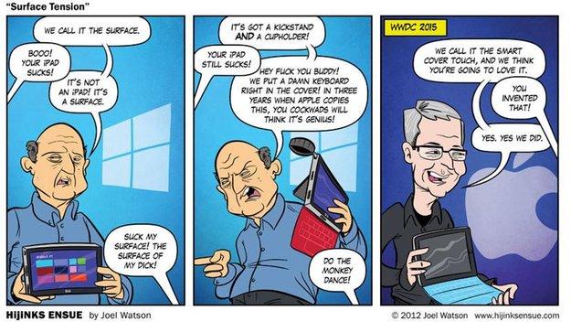 Ist das iPad Pro ein Surface Pro?