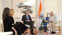 Tim Cook spricht mit indischem Premier über Apple Pay, Produktion und Steve Jobs