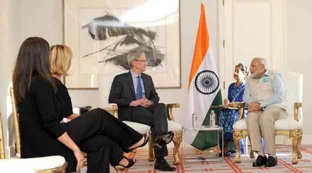 Apple in Indien: Verschwindend kleiner Marktanteil –aber großes Potential
