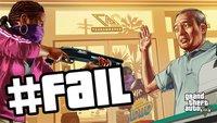 Dumm wie Brot: Die witzigsten GTA 5-Fails im Überblick