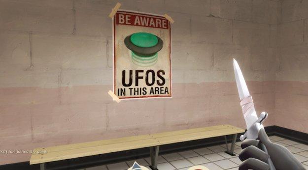 Team Fortress 2 steht offenbar eine UFO-Invasion bevor