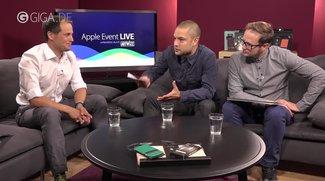Apple Event: Aufzeichnung, Podcasts und GIGA-Livesendung online verfügbar