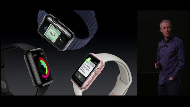 Apple Watch in neuen Farben und mit neuen Armbändern verfügbar