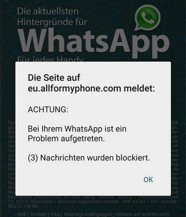 Whatsapp sprüche blockieren Bei WhatsApp