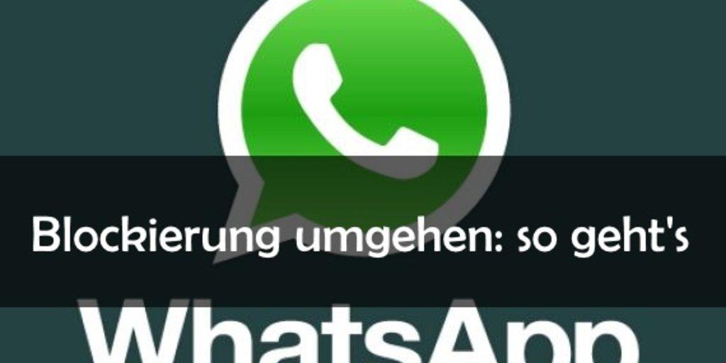 sms senden trotz blockierung