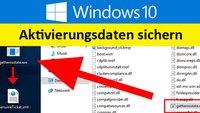 Windows 10: Aktivierungsdaten sichern – So geht's