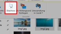 Windows 10: Bilder als Diashow anzeigen – so geht's