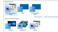 Windows 10: Design ändern – So geht's