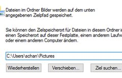 Windows 10: Eigene Dateien...