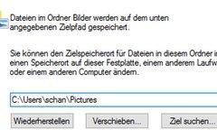 Windows 10: Eigene Dateien...