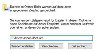 Windows 10: Eigene Dateien verschieben – so geht's
