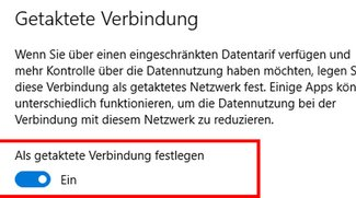 Windows 10: Getaktete Verbindung aktivieren – So geht's