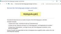 Windows-10-Heimnetzgruppe: Kennwort anzeigen – So geht's