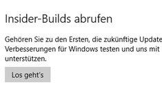 Windows 10: Insider-Builds abrufen – So geht's