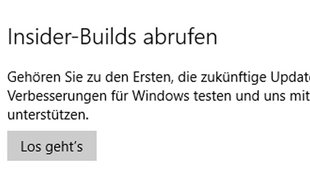 Windows 10: Insider-Builds abrufen – So geht's
