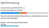 Windows 10: Speicherbelegung anzeigen von Apps, Programmen und Ordnern – So geht's