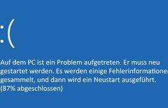 Windows 10: Bluescreen-Absturz...