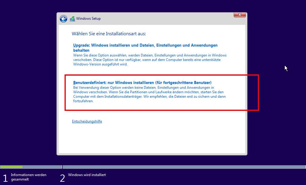 Windows Partition Löschen