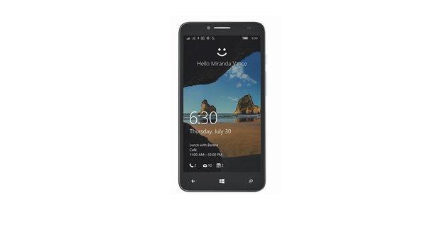 Alcatel OneTouch Fierce XL mit Windows 10 Mobile auf erstem Pressebild