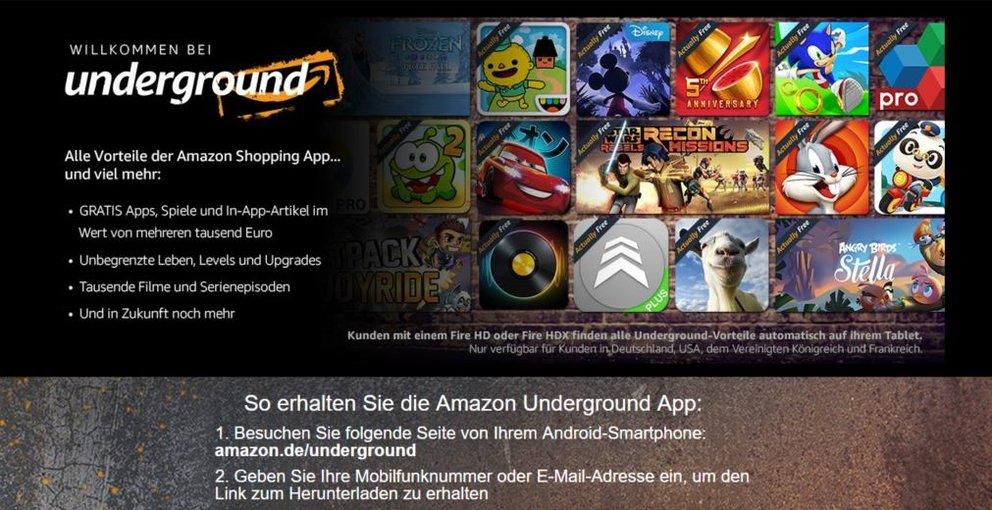 Amazon Underground Kostenlos
