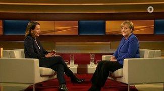 Angela Merkel: Kanzlerin bei Anne Will im Stream online sehen