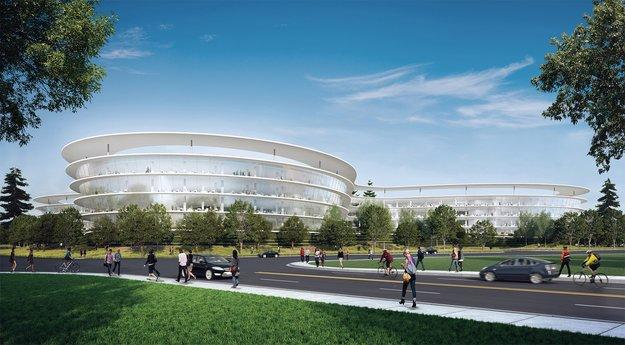 Bericht: Weiterer Spaceship-Campus soll in Sunnyvale entstehen